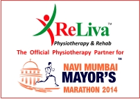reliva- the official Physiotherapy Partner for Navi Mumbai Mayor's Marathon