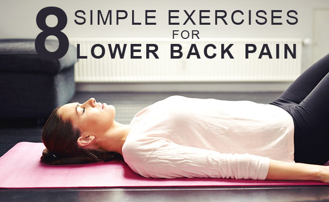 8 Simple Exercises for Back Pain