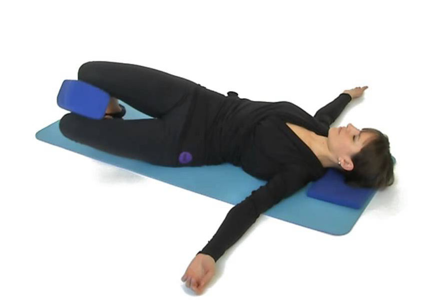 Supine Spinal Twist Exercise