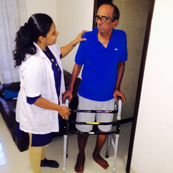 Knee replacement recovery with Reliva